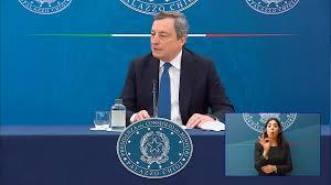 Linea dura contro il personale sanitario che non si vaccina: la conferenza  stampa di Draghi
