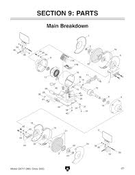 Grizzly T24463 6 Bench Grinder With Work Light Grizzly Bench Grinder Wiring Diagram Bench Grinder Parts
