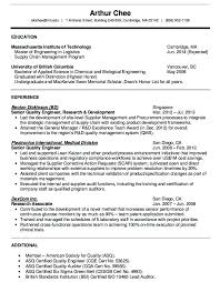 Quality Engineer Resume Beauteous Quality Engineer Resume Format Project Engineer Resume Template