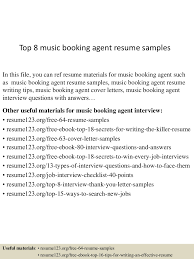 Resume Music top10000musicbookingagentresumesamples1005072301000031003100lva100app61000092thumbnail100jpgcb=1001003761000337 94