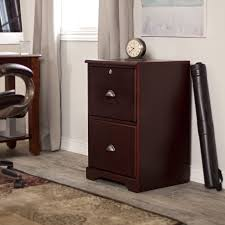 Cherry File Cabinet The Hawthorne 2 Drawer Filing Cabinet Dark Cherry At Hayneedle