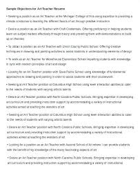 Objective For Teacher Resume Objective For A Teacher Resume Doc Resume Objective For Teaching 73