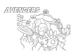 Stampaecoloraweb Disegni Da Colorare Avengers Pdf