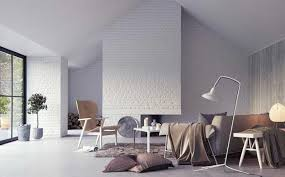 White Bricks Wall Ideas For The Entire HouseWhite Brick Wall Living Room