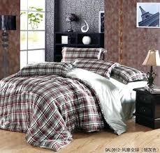 plaid comforter sets queen plaid comforter sets queen art boys bedroom r queen size silk