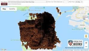San Francisco Free Medical Chart Mapping San Franciscos Human Waste Challenge 132 562