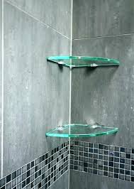 glass shower shelf glass corner shower shelf glass shower shelves glass shower shelves brilliant bathroom accessories