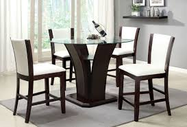 Manhattan Iii Counter Height Dining Set W White Chairs By Furniture