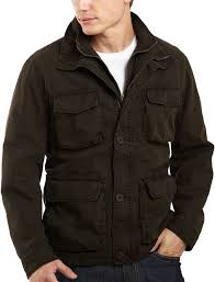 jcpenney excelled leather excelled washed cotton jacket