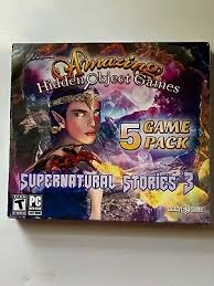 Download free hidden object games for pc! New Amazing Hidden Object Games Supernatural Stories 3 5 Game Pk Pc Dvd 2018 734113031292 Ebay