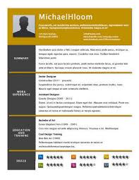 Starry Resume Template