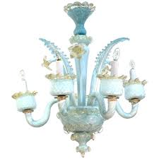 murano crystal chandelier mid century blue crystal chandelier for murano crystal opaline glass chandelier