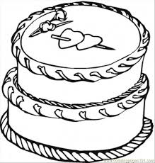 Small Picture Cake With Big Hearts Coloring Page Free Desserts Coloring Pages