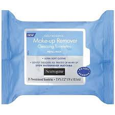 neutrogena makeup removing cleansing towelettes