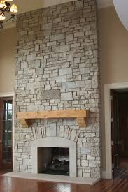 interior design stone fireplace stone veneer surround faux wall hearth ideas stacked panels stones stack tile