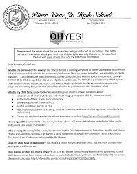 School Survey Questions For Parents Ohyes Survey Parents Please Read For More Information River View