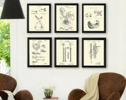 dental office decor. Dentist Office Wall Dental Invention Patents Set Of 6 Art Prints, Gift, Decor B