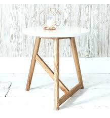 white round bedside table side tables off drawers bedroom tall gloss living room small white round bedside table