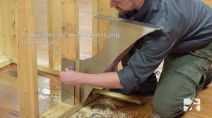 how to foss shower bench bracket installation