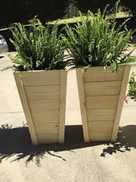 Diy Planters 20 Tall Planters Bower Power