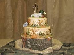 13 Hunting Grooms Wedding Cakes Photo Duck Hunting Grooms Cake