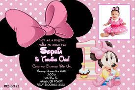 minnie mouse invitation template free minnie mouse 1st birthday invitations templates free minnie