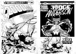 2000 ad 5 eagle and qc versions