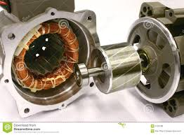 ac electric car motor. Opened AC Electric Motor. Royalty Free Stock Image Ac Car Motor