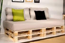 Decoracion Con Palets  Ideas Para Muebles De Diseño Casero Sofa Cama Con Palets
