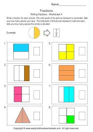 Writing Fractions Worksheet 4 Free Printable Fraction Worksheets ...