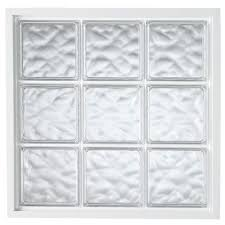 acrylic block fixed vinyl glass block