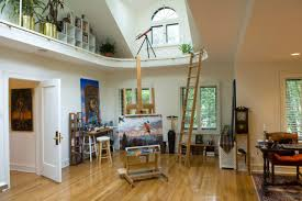 cool artist studio river forest illinois contemporary home office artist office