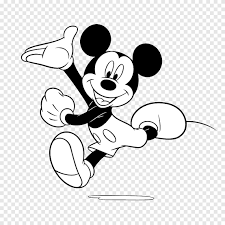 Mickey Mouse Minnie Mouse Black and white Goofy, mickey mouse, white,  mammal png