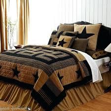 cabin bedding sets deer comforter sets bed in a bag deer print bedding set king size