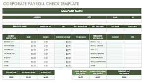 Payroll Excel Template Amantex Club