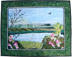 Pictures of Landscape and Art Quilts & Tualatin Valley Landscape Quilt Adamdwight.com