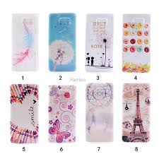 Note 5 Soft TPU IMD Painted Case Back Cover Dream Catcher Custom Mobile Phone Cases for Samsung Galaxy Painting