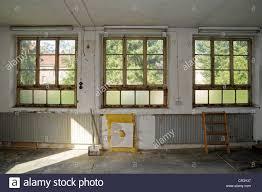 Fenster Altbau Umbau Wohnungsbau Baustelle Stockfoto Bild