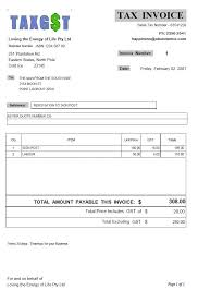 Business Invoice Forms Tax Invoices And Non Tax Invoice Samples