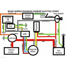 50 70 110 125cc wiring harness loom atv quad bike electric start 110cc chinese atv wiring harness at 125cc Chinese Atv Wiring Diagram
