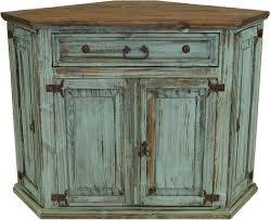 rustic corner tv stand. santa fe antique turquoise rustic corner tv stand tv
