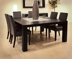 dark wood dining room furniture. square dining table counter height marble top dark wood room furniture