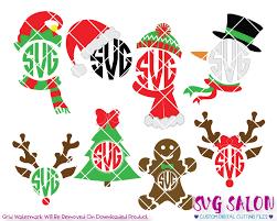 Elf legs clip art set   daily art hub. Christmas Monogram Svg Cut File Set For Custom Christmas Clothing