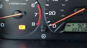 How To Reset Maintenance Light On Honda Accord 2000 Honda Accord Maintenance Light Reset