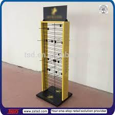 Metal Display Racks And Stands Tsdm100 Custom Retail Shop Floor Standing Product Hook Metal 11