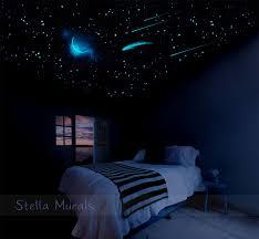 Glow in the Dark Star Ceiling 400-1000 Glow Star Stickers