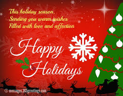 Holiday Greetings Quotes Awesome Happy Holiday Wishes Greetings And Messages 48greetings