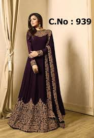 Full Length Suit Design Drashti Dhami Designer Party Wear Floor Length Suit