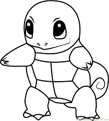 Small Picture Squirtle Pokemon GO Coloring Page Free Pokmon GO Coloring Pages