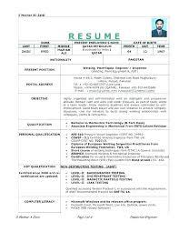 Welding Resume Objective Examples For Welder Template Example